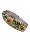 Silver bracelet with Tiger eye